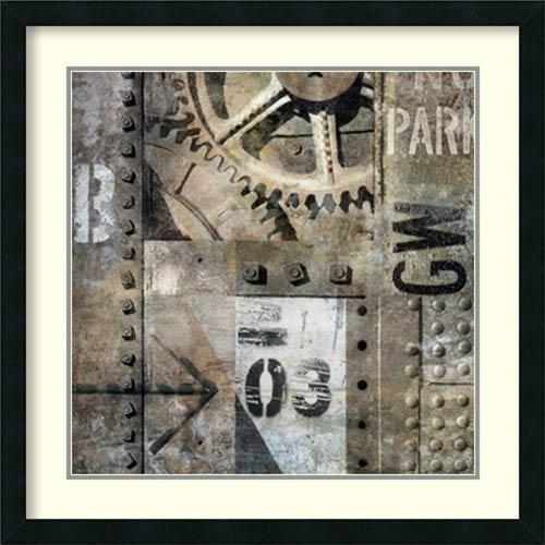 Industrial I By Dylan Matthews : 26 x 26-Inch