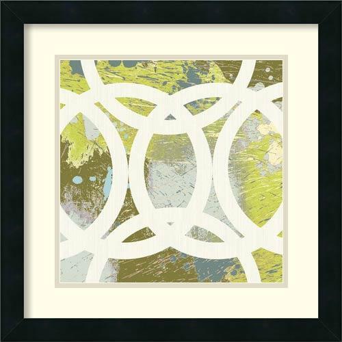 Amanti Art Circling II by Maja: 18 x 18 Print Reproduction