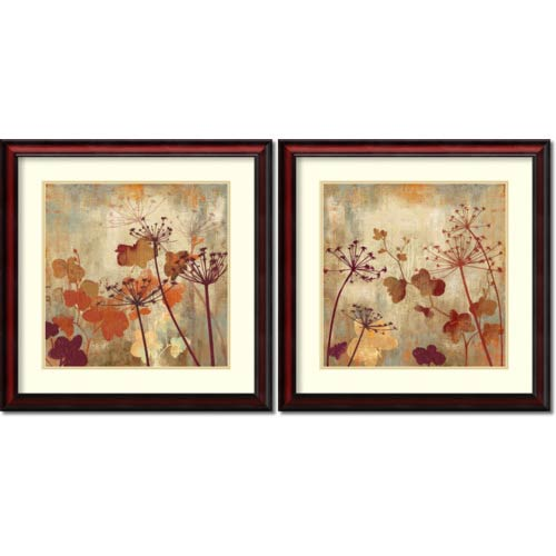 Amanti Art Wild Field by Aimee Wilson: 26 x 26 Print Reproduction, Set of Two
