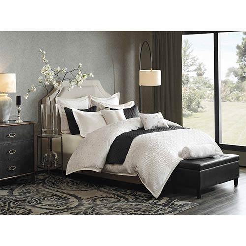 Pathways Cream Eight-Piece Queen Duvet Style Comforter Set