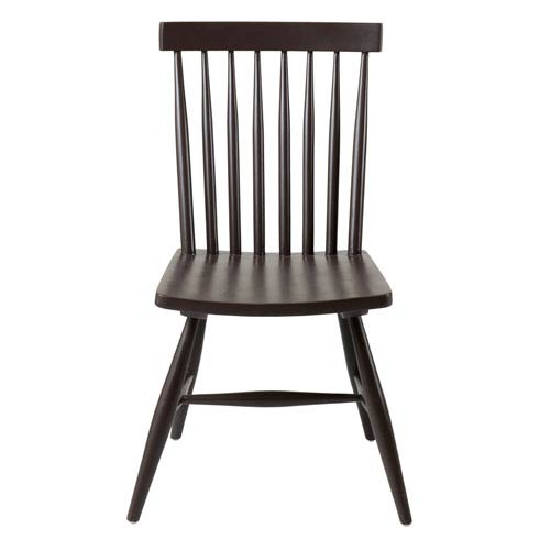 Pulaski Black Teakwood Dining Chair