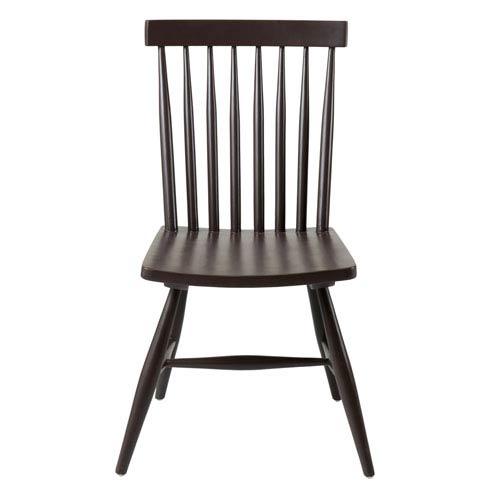 East at Main Pulaski Black Teakwood Dining Chair