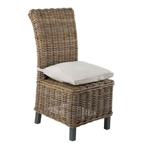 Sumter Grey Rattan Dining Chair