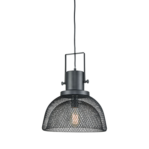 Sterling Industries Darknet Oil Rubbed Bronze One-Light 14-Inch Pendant