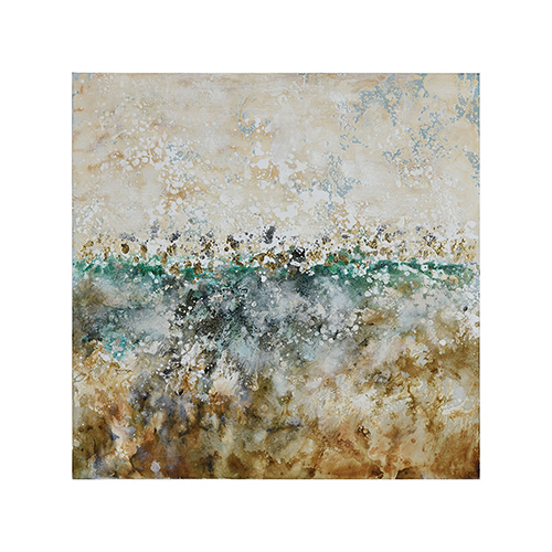 Gozo Coast 39-Inch Hand Painted Art On Canvas