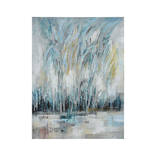 Sterling Industries 35.5-Inch Hand Painted Art On Canvas