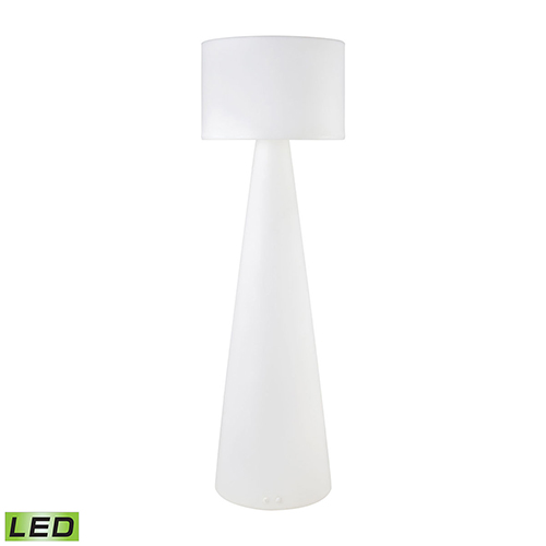 Sterling Industries A Design Space Oddysey White 24-Inch LED Outdoor Floor Lamp