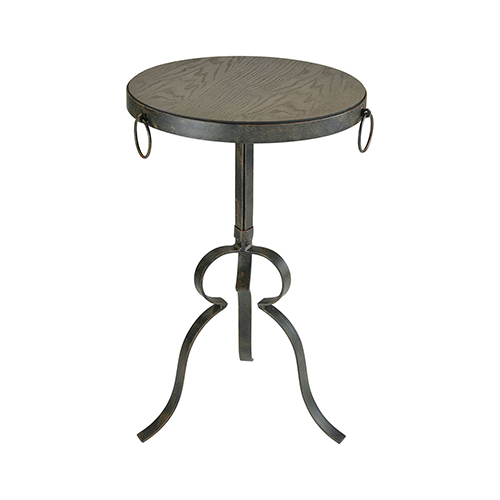 Sterling Industries Circa Hazelnut and Rust 15-Inch Accent Table