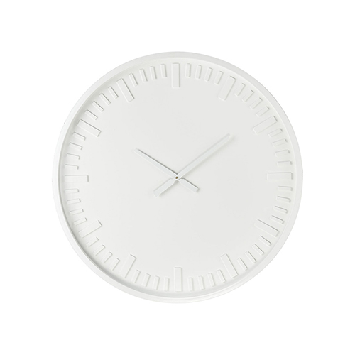 Marceau White 31-Inch Clock