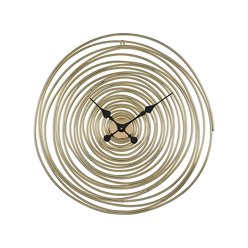 Sterling Industries Vortissimo Gold 24 Inch Clock 351 10537 Bellacor