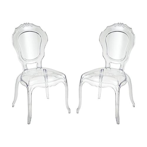 Vie Clear 20-Inch Chair
