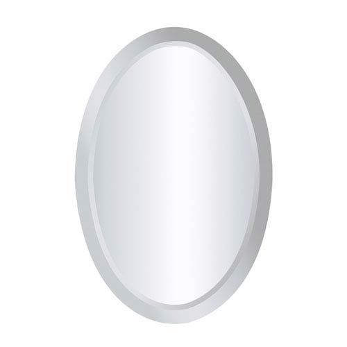 Chadron Clear Oval Mirror