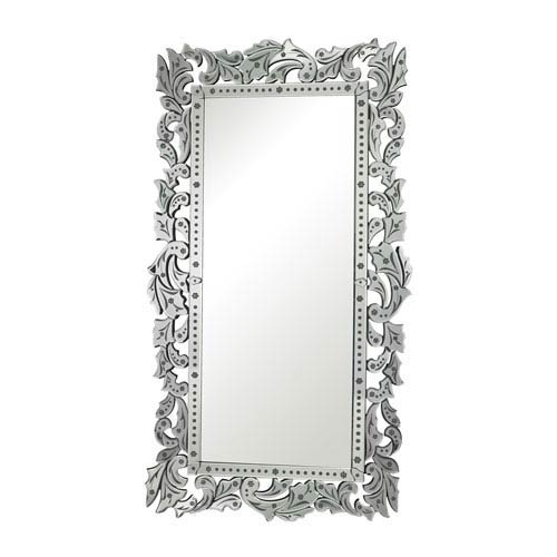 Clear and Rectangular Mirror 72.25-Inch Rectangular Mirror