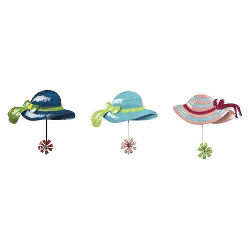 Impact Royal Blue, Teal, Pink 3-Inch Sun Hat Hook