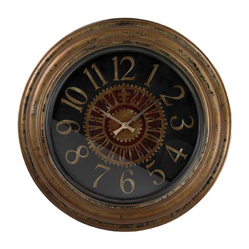 Sterling Industries Alspire Alexan Distressed Large Clock