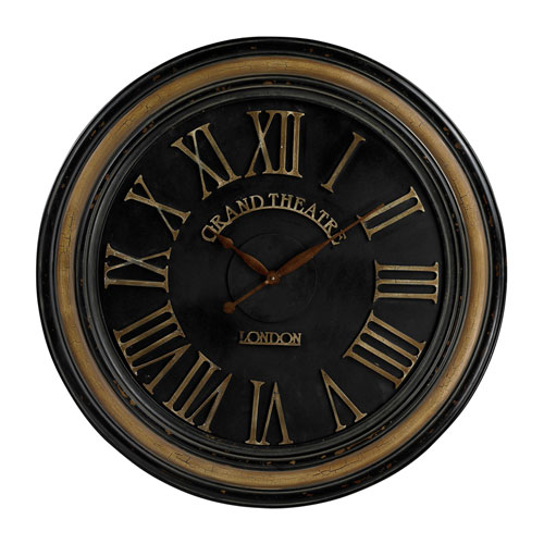 Sterling Industries Grand Theatre 36-Inch Wall Clock
