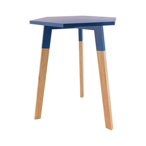 Sterling Industries Sky Pad Navy Accent Table