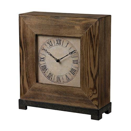 Sterling Industries Halesite Veneer Clock
