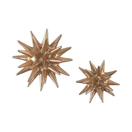 Set of 2 Parsec Copper Wall Decor