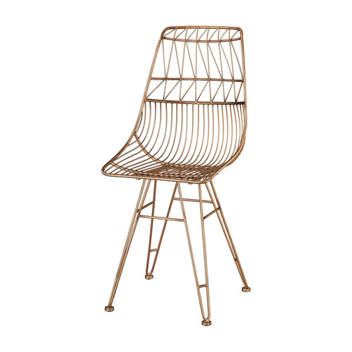 Jette Rose Gold Chair
