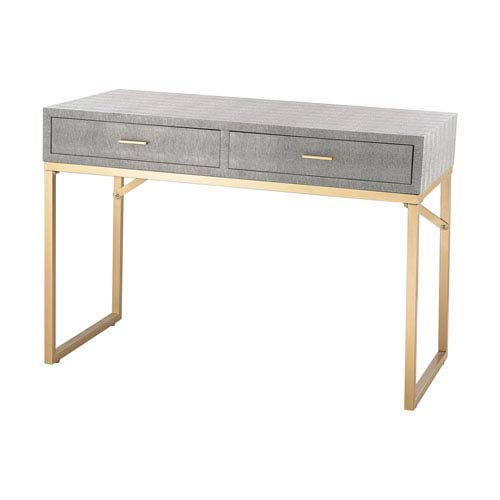 Beaufort Gold Grey Desk