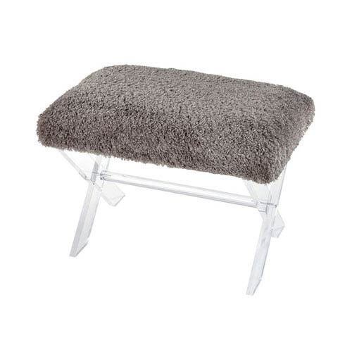 Sterling Industries Knoxx Grey Bench