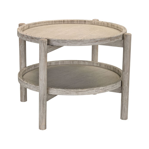 Grey Washed Driftwood Side Table