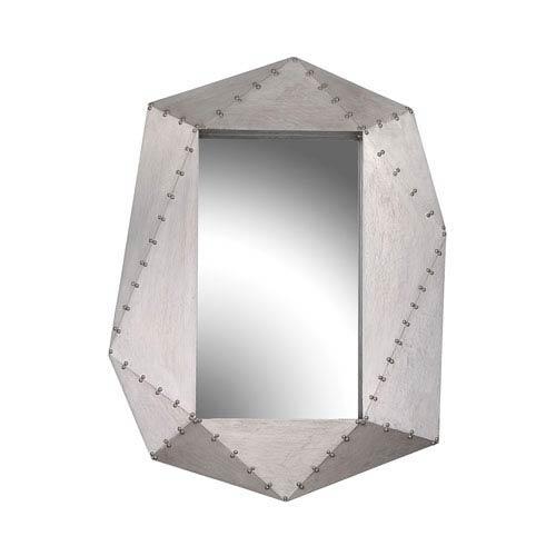 Hedron German Silver Mirror