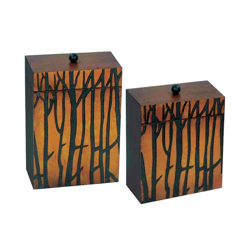 Sterling Industries Branch Boxes, Set of Two