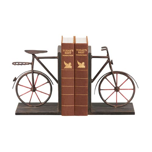 Pair Bicycle Bookends