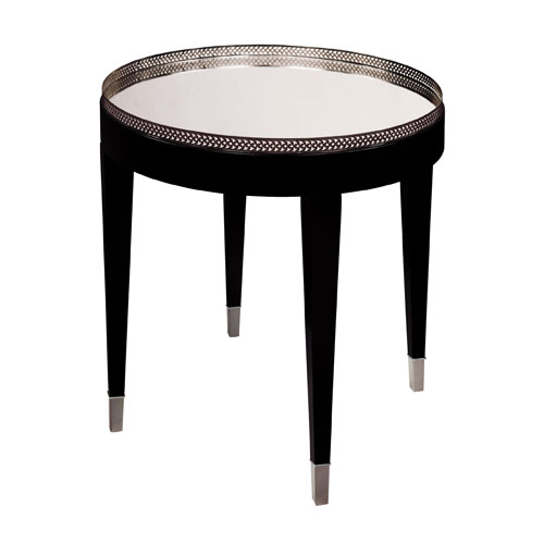 Sterling Industries Black Tie Accent Table