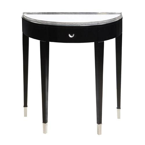 Sterling Industries Black Tie Hall Table