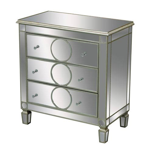 Sterling Industries Silver 36-Inch Chest