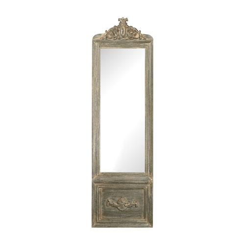 Bastille Grey White Wash Mirror