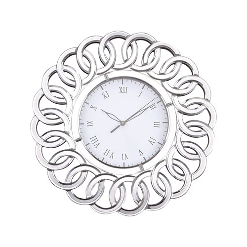 Châtelaine Mirror Wall Clock