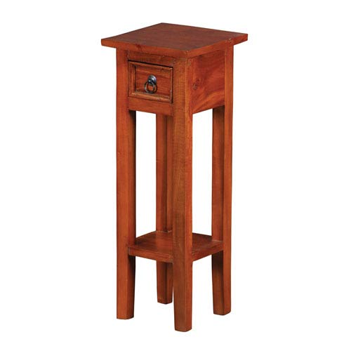 Espresso 26.8-Inch End Table