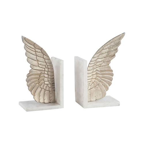 Seraph Champagne Gold Bookends - Set of 2