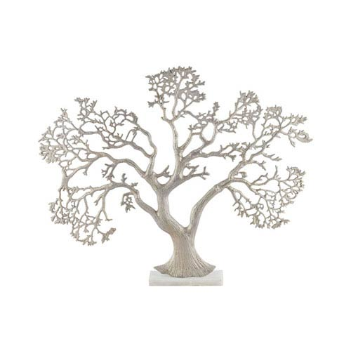 Sterling Industries Kamakura Champagne Gold Tree Sculpture