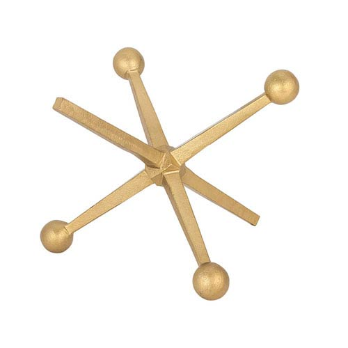 Jax Gold Table Sculpture