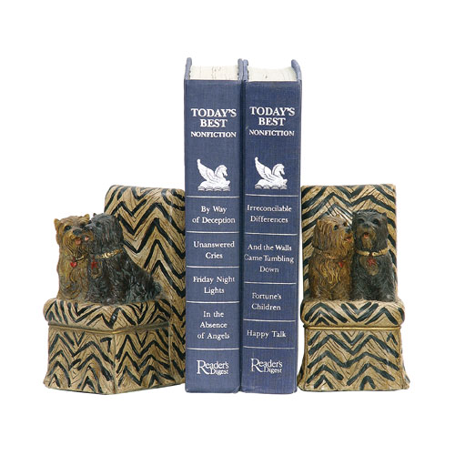 Sterling Industries Millionaire Pet Bookends