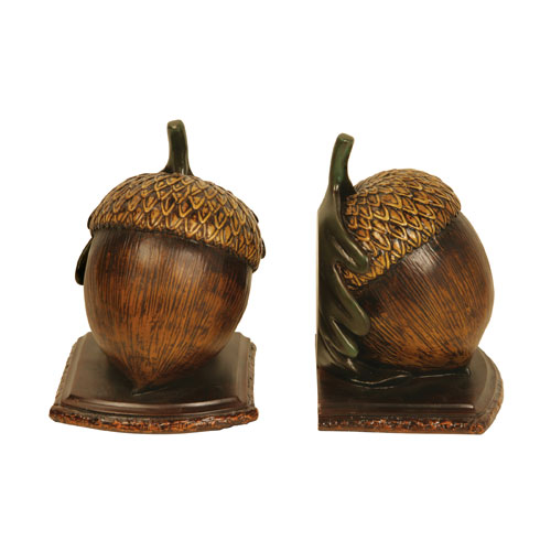 Muir Woods Acorn Bookends