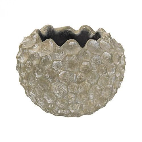 Warm White Coral Texture Vessel