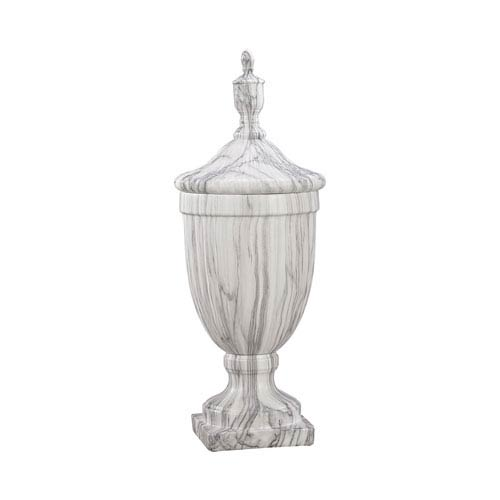 Neuchâtel Faux Marble Small Urn