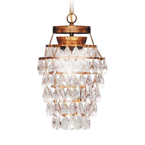 Deco Drop Three-Light Mini Pendant