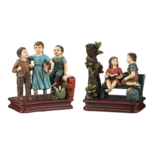 Southmoor Resin 6-Inch Bookend, Set of 2