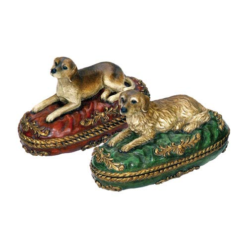 Sterling Industries Set of Two Prized Pet Boxes