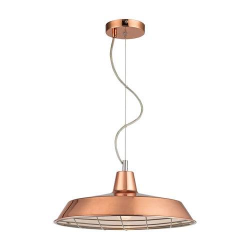 Ajax Copper Four-Light Pendant