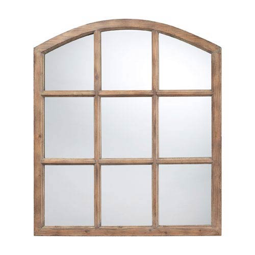 Union Wood Oak Mirror