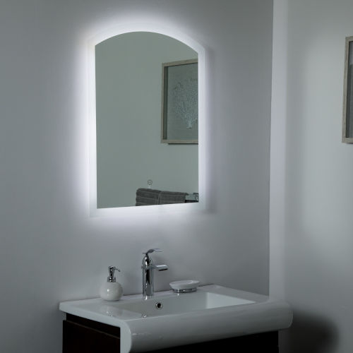 Luna B Backlit LED Bathroom Mirror