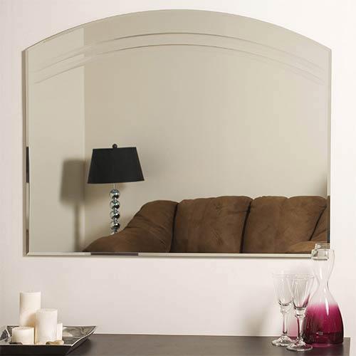 Decor Wonderland Angel Large Frameless Wall Mirror Ssm1065